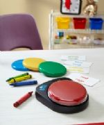 Ablenet BIGmack communication aid from Ability World in classroom